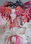 giclee - Madame Butterfly - Popdivy - 60x90 cm
