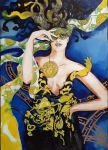 Obraz giclee - Good bye Giani - 70x100 cm, Maggie Piu, Fashion Games